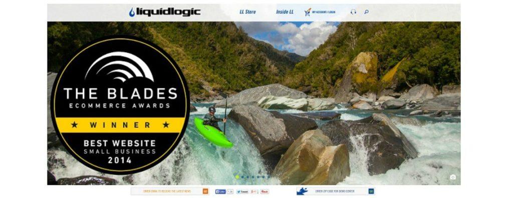 Liquidlogic Wins Blades Award for Best Website Small Business Class
